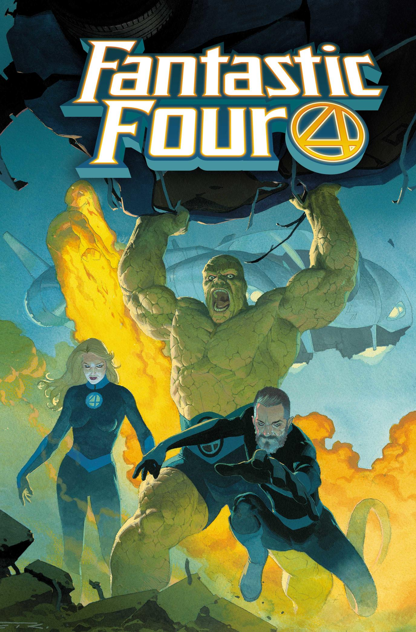 Cover of Fantastic Four Number One