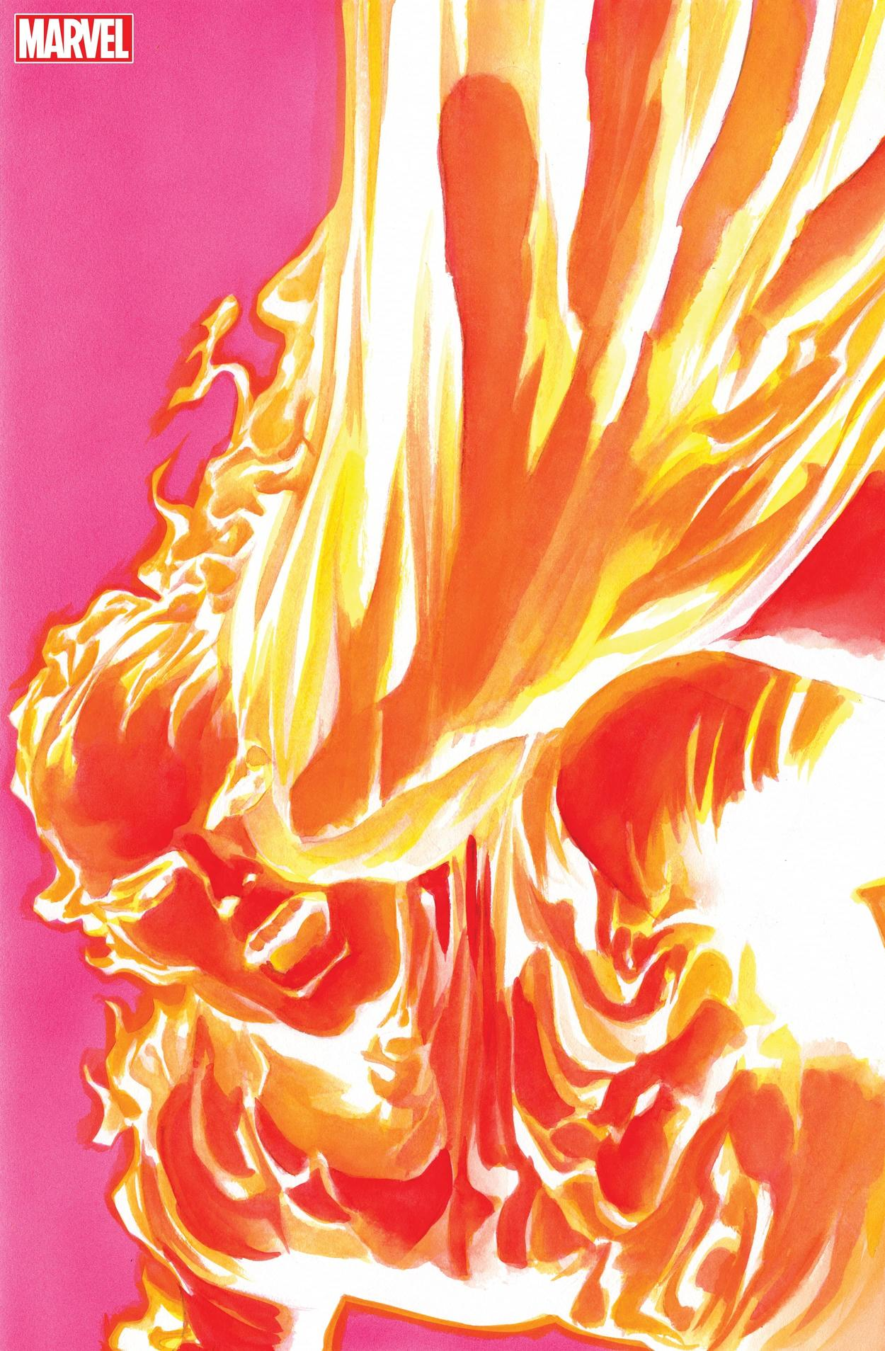 MARVELS SNAPSHOT: FANTASTIC FOUR #1 cover by Alex Ross