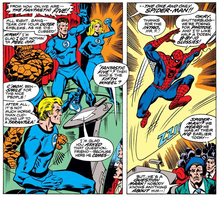Spider-Man joins the FF in WHAT IF (1977) #1.