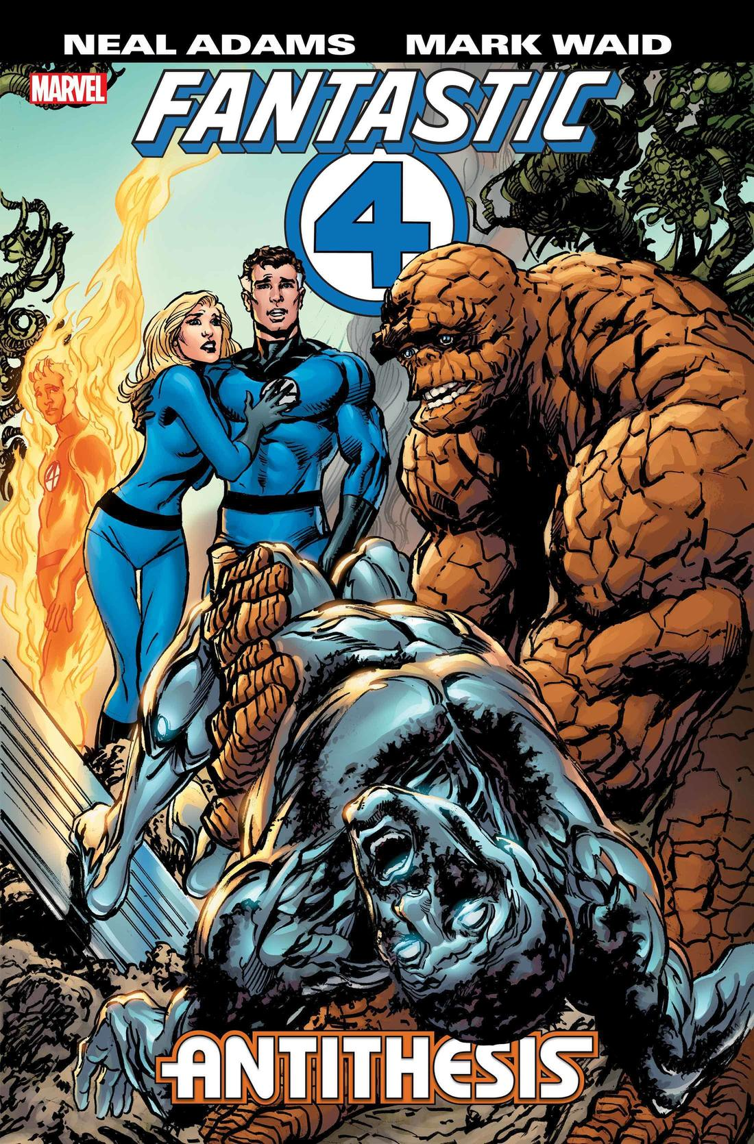 FANTASTIC FOUR: ANTITHESIS cover by Neal Adams