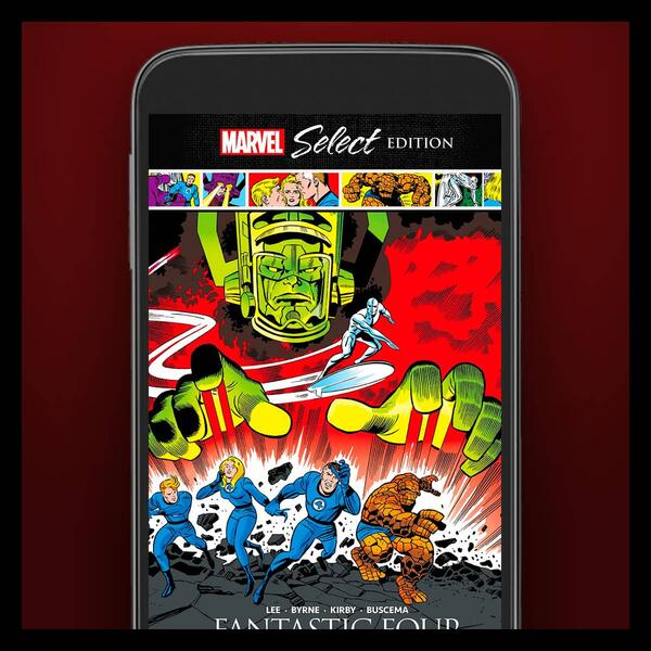 Marvel Insider Digital Comic Collection Fantastic Four: Behold...Galactus! Marvel Select