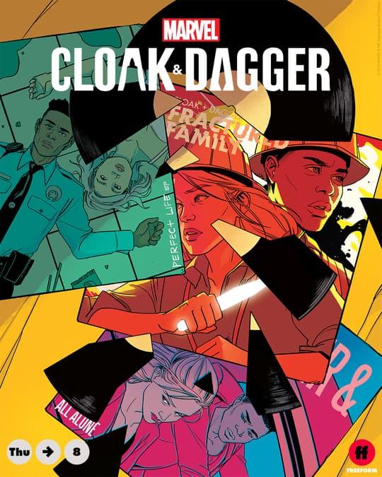 Marvel's Cloak & Dagger - Annie Wu