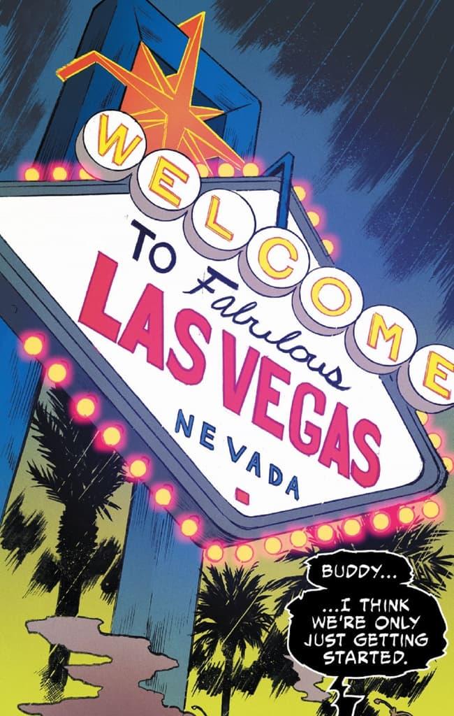 Venom hits the Las Vegas strip!
