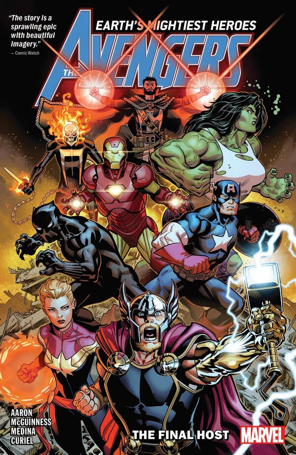 The Avengers versus the Final Host.