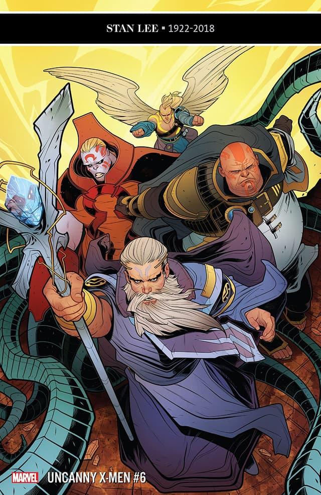 Cover of Uncanny X-Men #6
