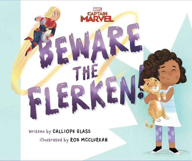 Captain Marvel: Beware the Flerken!
