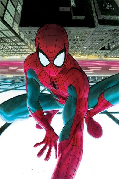 FRIENDLY NEIGHBORHOOD SPIDER-MAN #2 cover by Andrew Robinson
