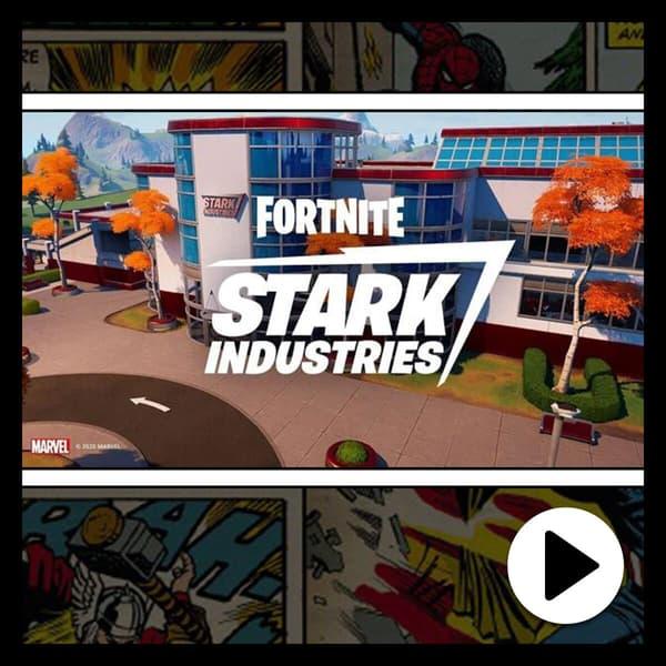 Marvel Insider Stark Industries Arrives In Fortnite Watch the Trailer for Fortnite Nexus War