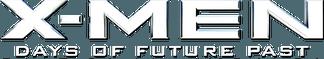 X-Men: Days of Future Past Movie Logo