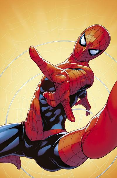 Juann Cabal variant cover for FRIENDLY NEIGHBORHOOD SPIDER-MAN #1