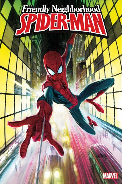 Friendly Neighborhood Spider-Man cover by Andrew Robinson