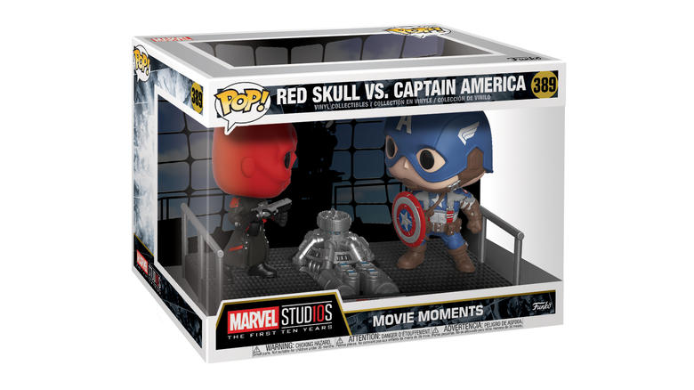 Movie Moments: Marvel – Captain America vs. Red Skull