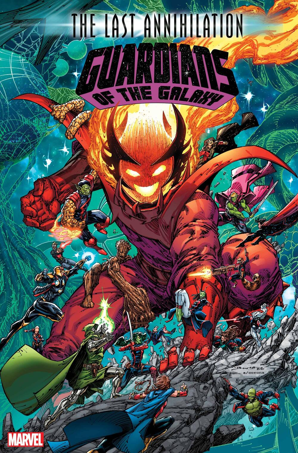 Guardians of the Galaxy #16 Cover