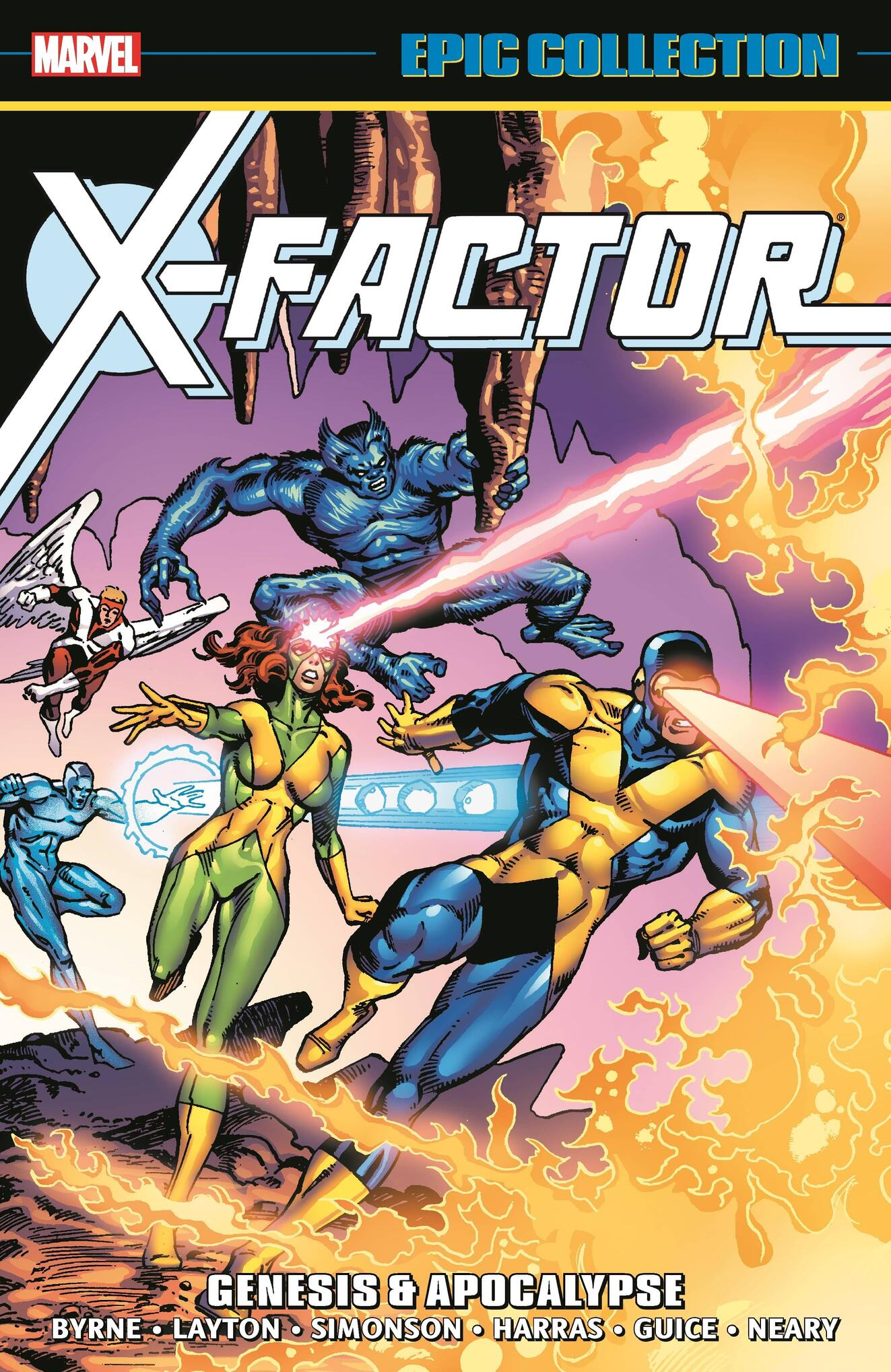 Cover to X-Factor Epic Collection: Genesis & Apocalypse (Trade Paperback).