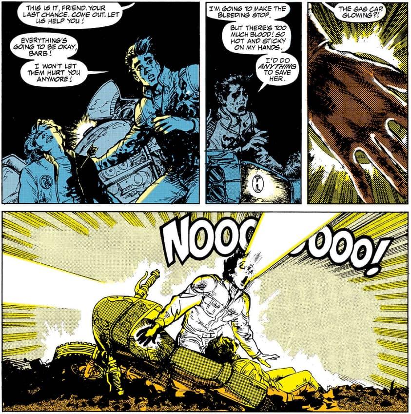 Ghost Rider Danny Ketch origin