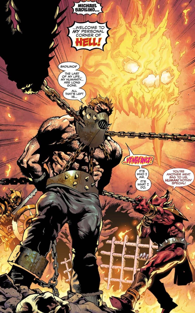 Vengeance returns in GHOST RIDER: RETURN OF VENGEANCE (2020) #1!