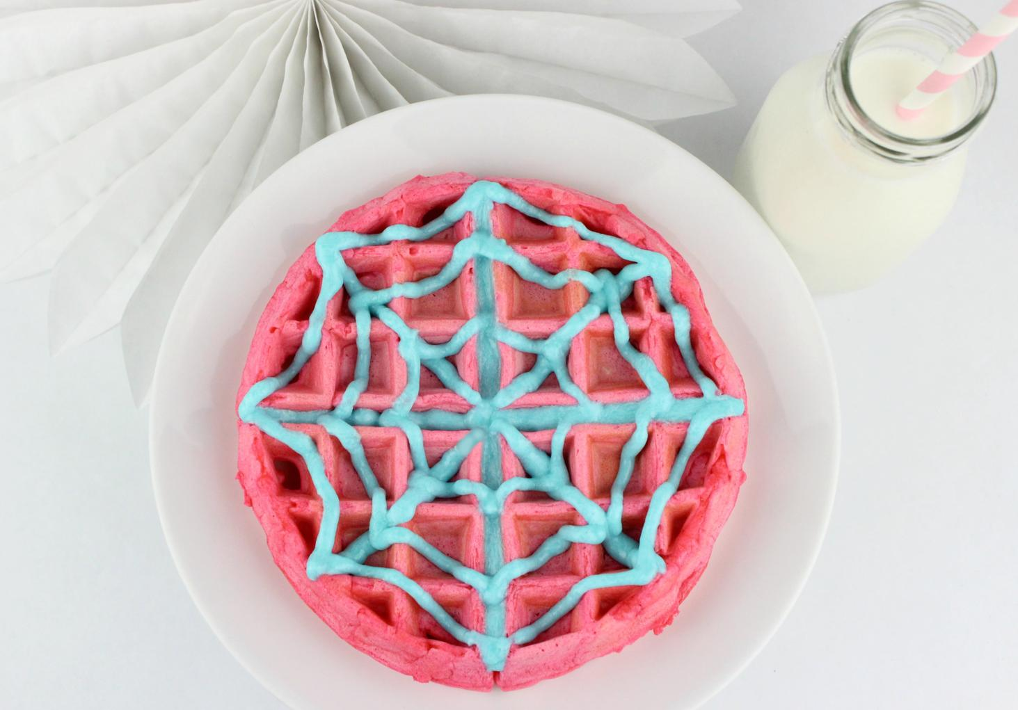 Ghost-Spider Waffles
