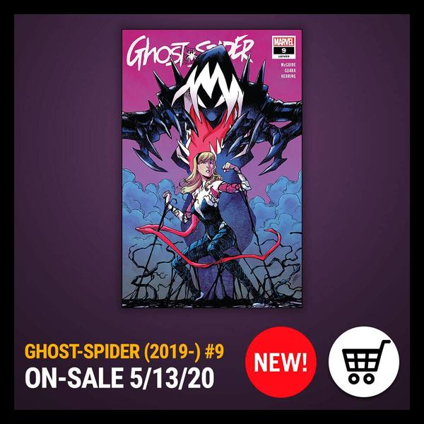 Marvel Insider Activity GHOST-SPIDER (2019) #9