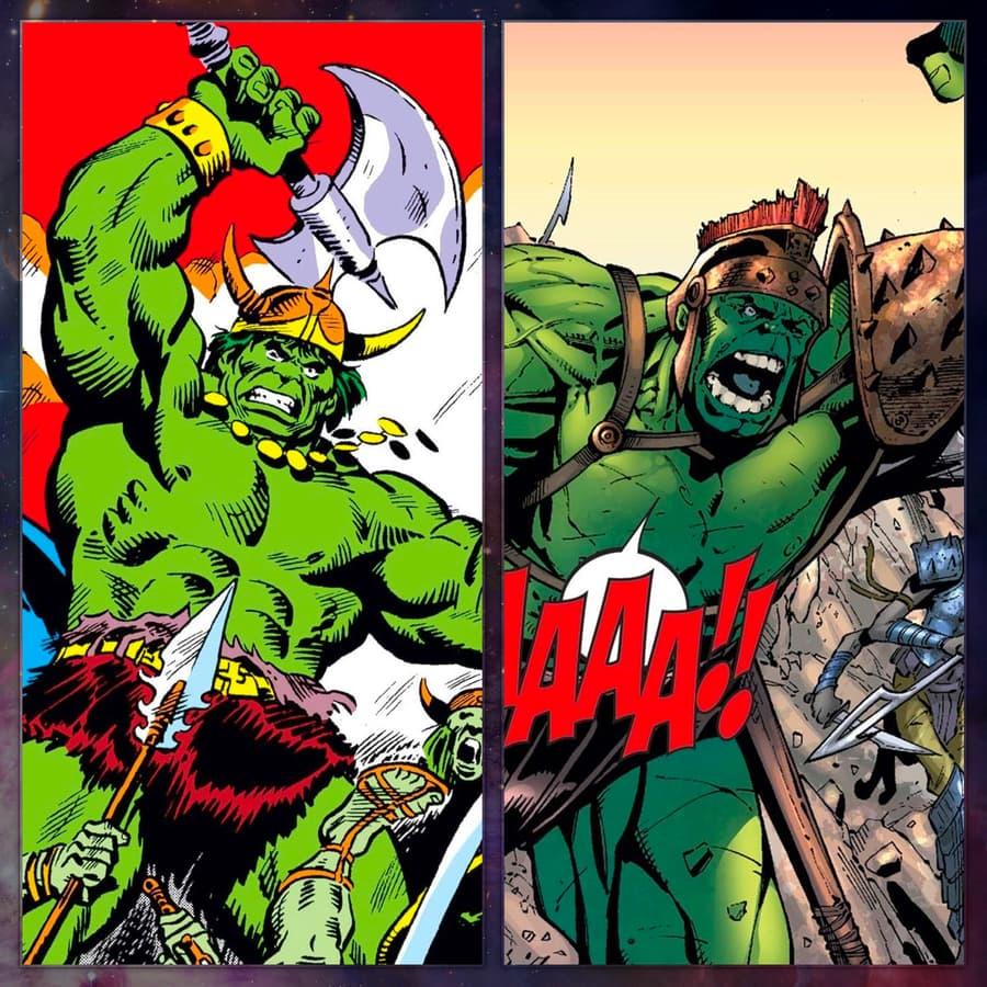 Gladiator Hulks take charge in battle!