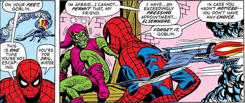 Green Goblin dies