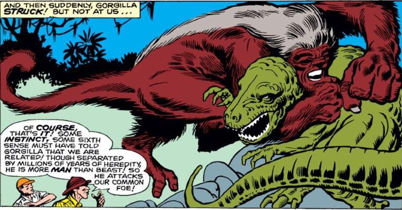 Gorgilla vs T Rex