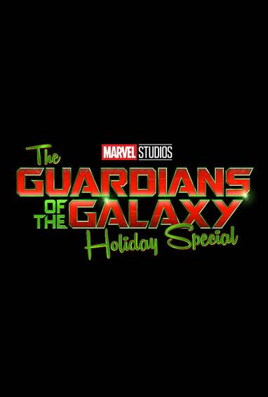 Marvel Studios Guardians of the Galaxy Holiday Special Disney Plus TV Show Logo on Black