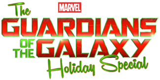 Marvel Studios Guardians of the Galaxy Holiday Special Disney Plus TV Show Logo