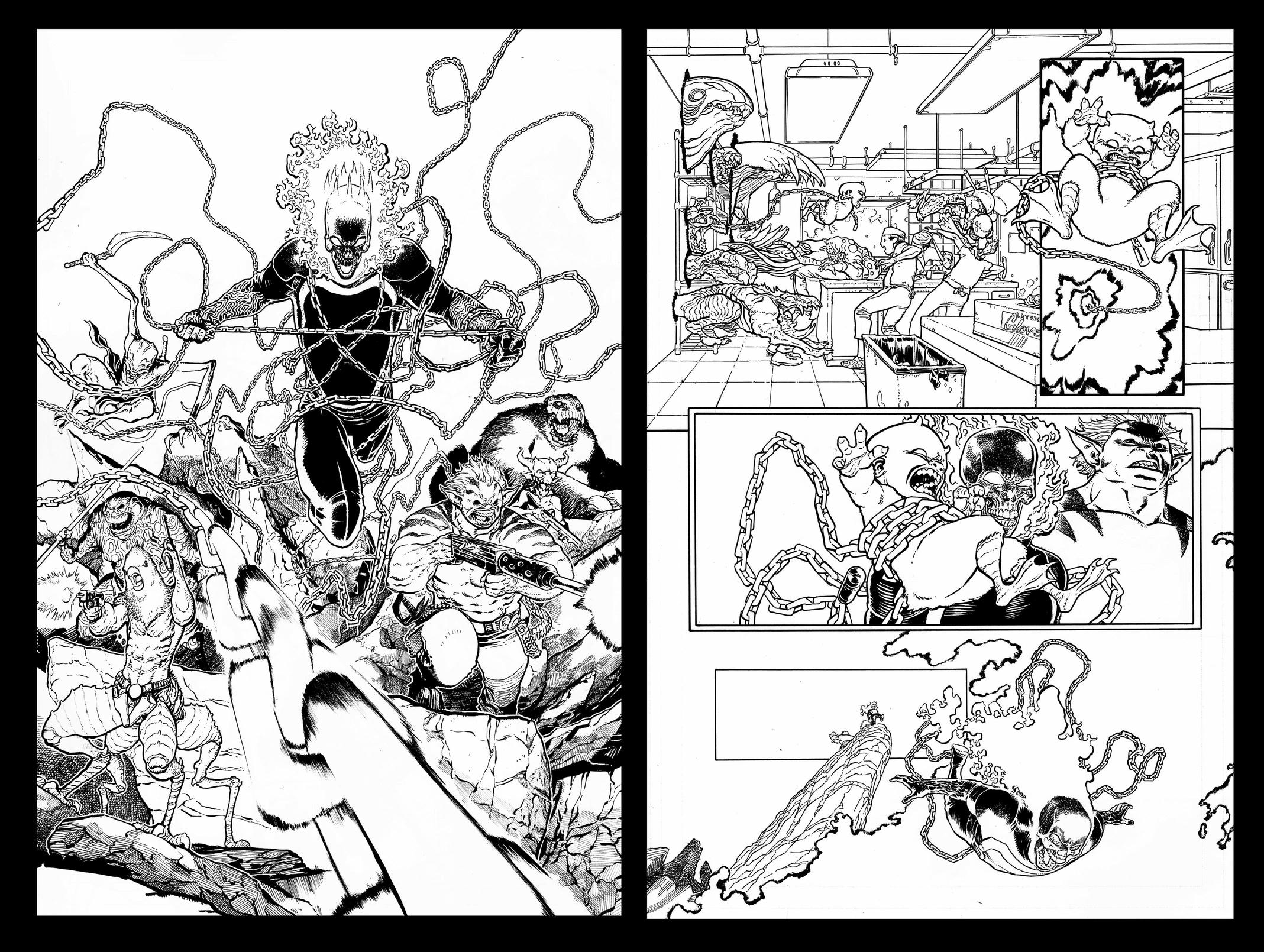 Ghost Rider process art