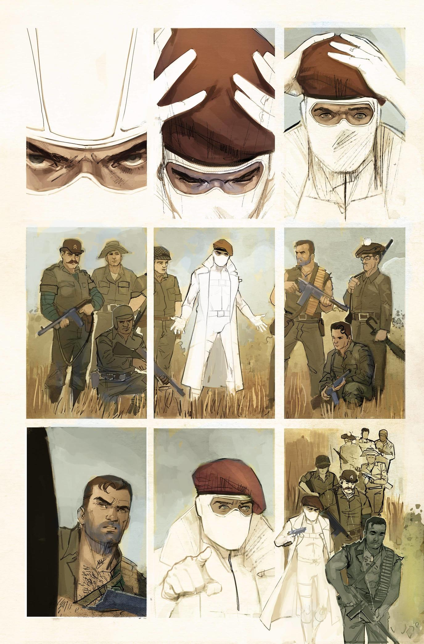 GIANT-SIZE X-MEN: FANTOMEX #1 preview interiors by Rod Reis