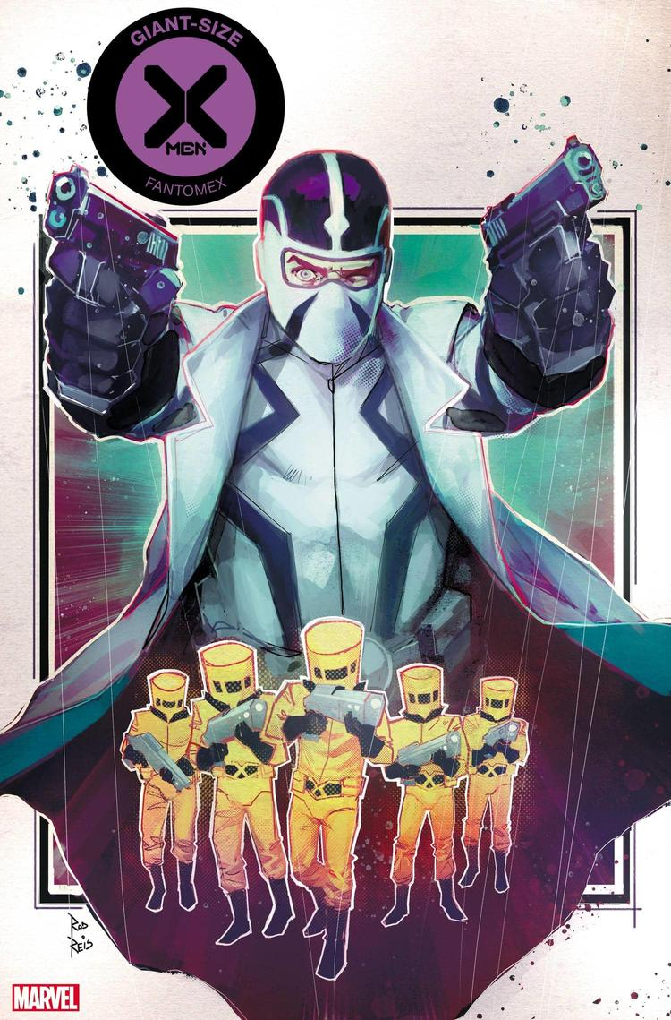 GIANT-SIZE X-MEN: FANTOMEX #1 cover by Rod Reis