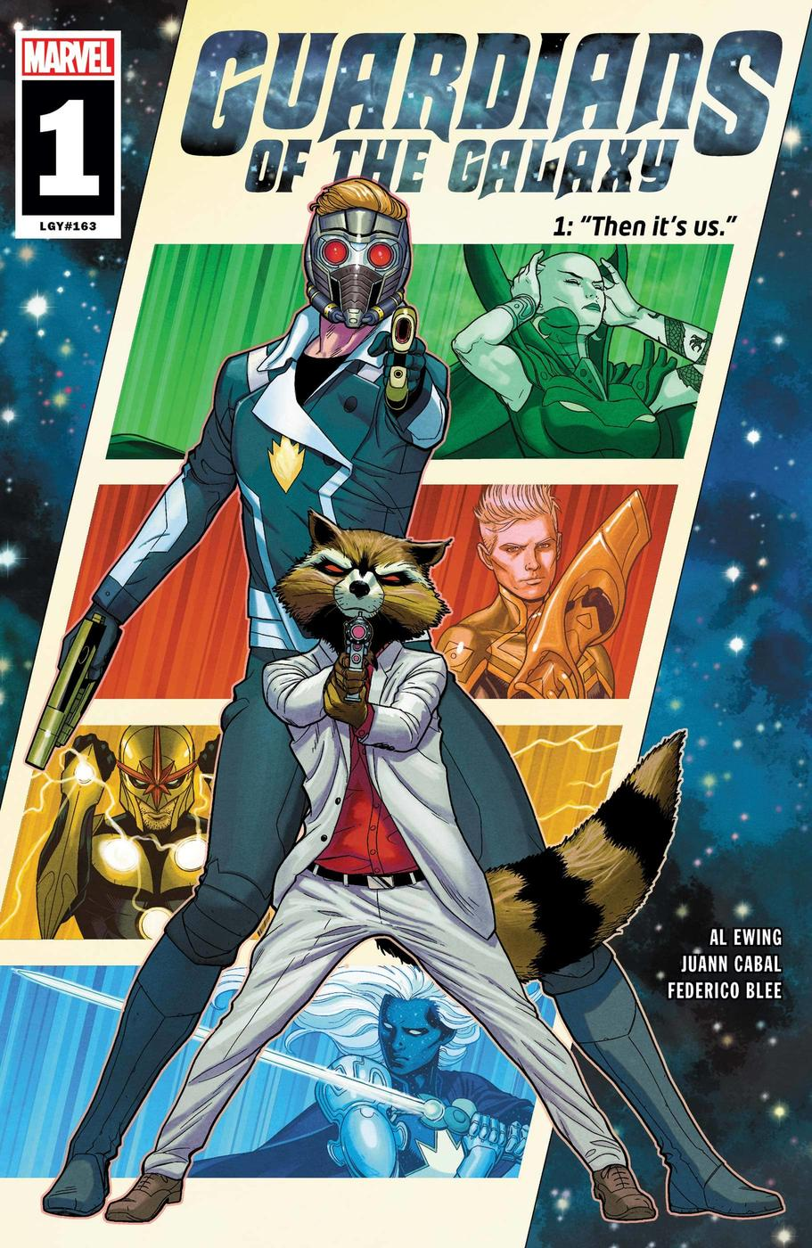 Guardians of the Galaxy_Cover