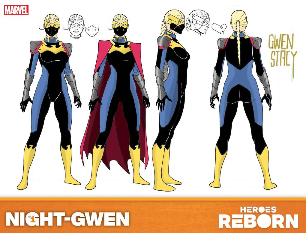 Gwen Stacy in Heroes Reborn