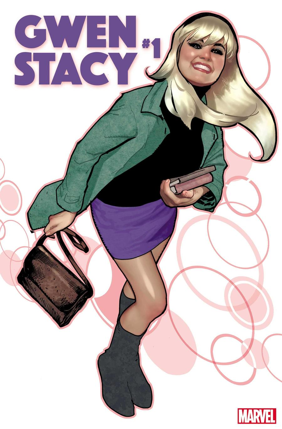 GWEN STACY #1 cover by Adam Hughes