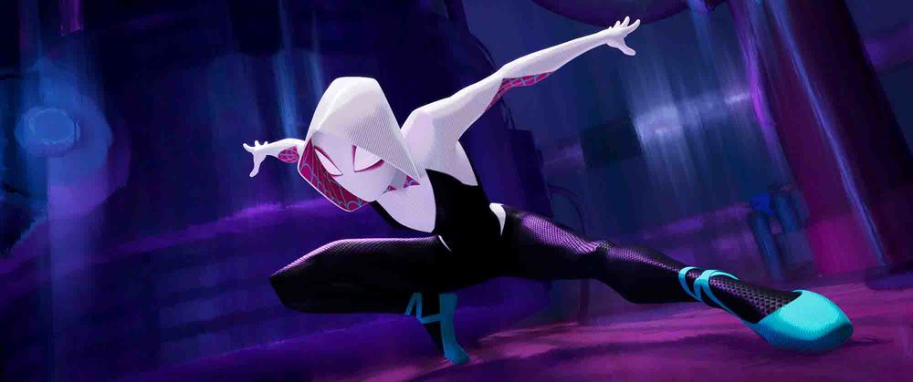 Gwen ballet shoes Into the Spider-Verse
