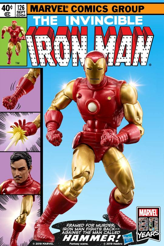 Hasbro Marvel Legends Iron Man