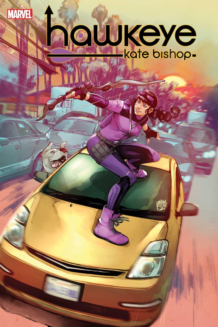 HAWKEYE: KATE BISHOP #1 cover by Jahnoy Lindsay