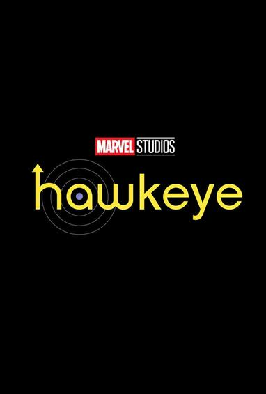 Hawkeye TV Show Season 1 Logo On Black
