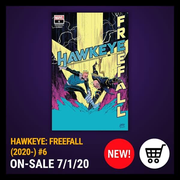 Marvel Insider HAWKEYE: FREEFALL (2020) #6