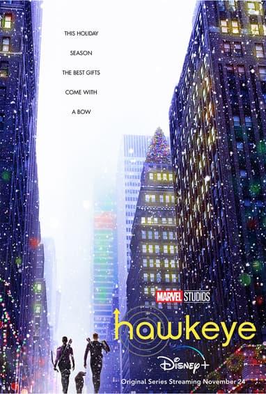 Marvel Studios' Hawkeye Disney Plus TV Show Season 1 Poster