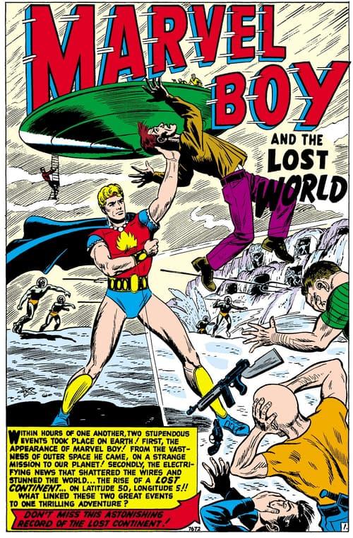 Marvel Boy by Russ Heath