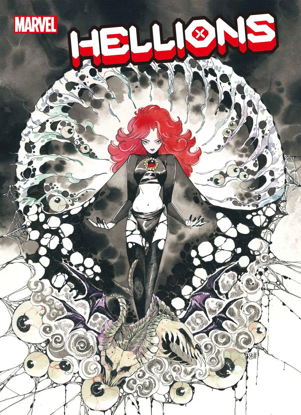 HELLIONS #18 variant cover by Peach Momoko