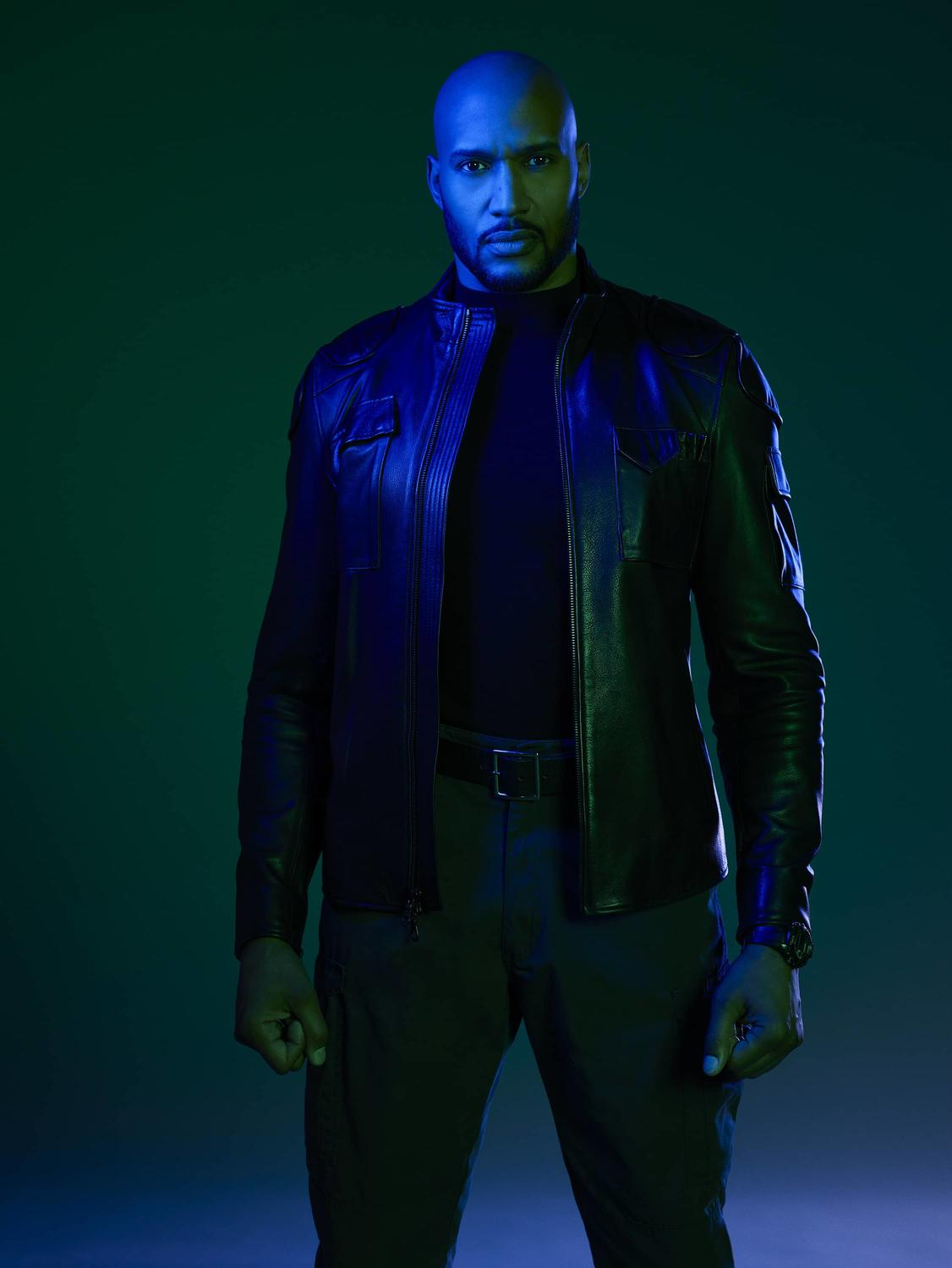 HENRY SIMMONS AS DIRECTOR ALPHONSO 'MACK' MACKENZIE