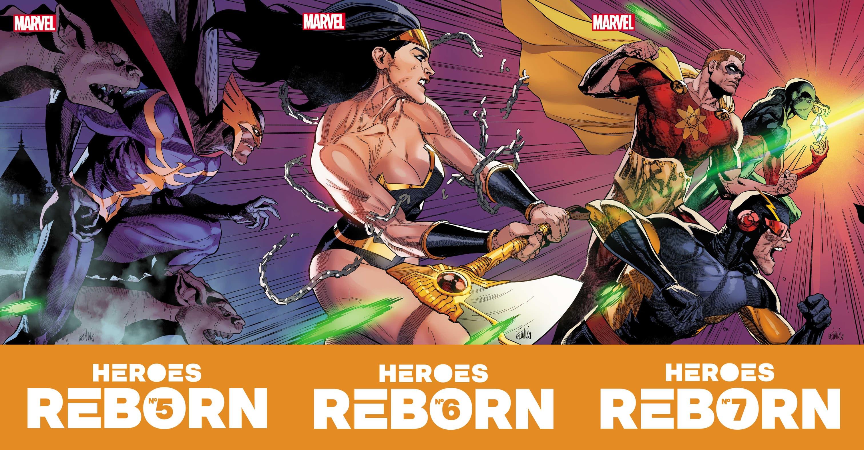Heroes Reborn #5-7