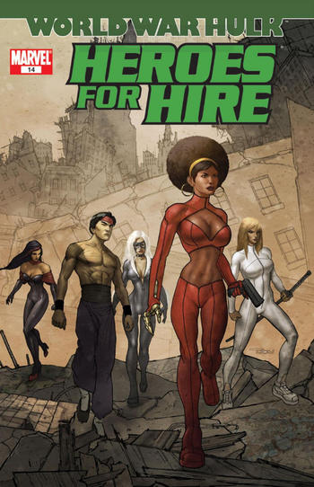 Heroes for Hire #14