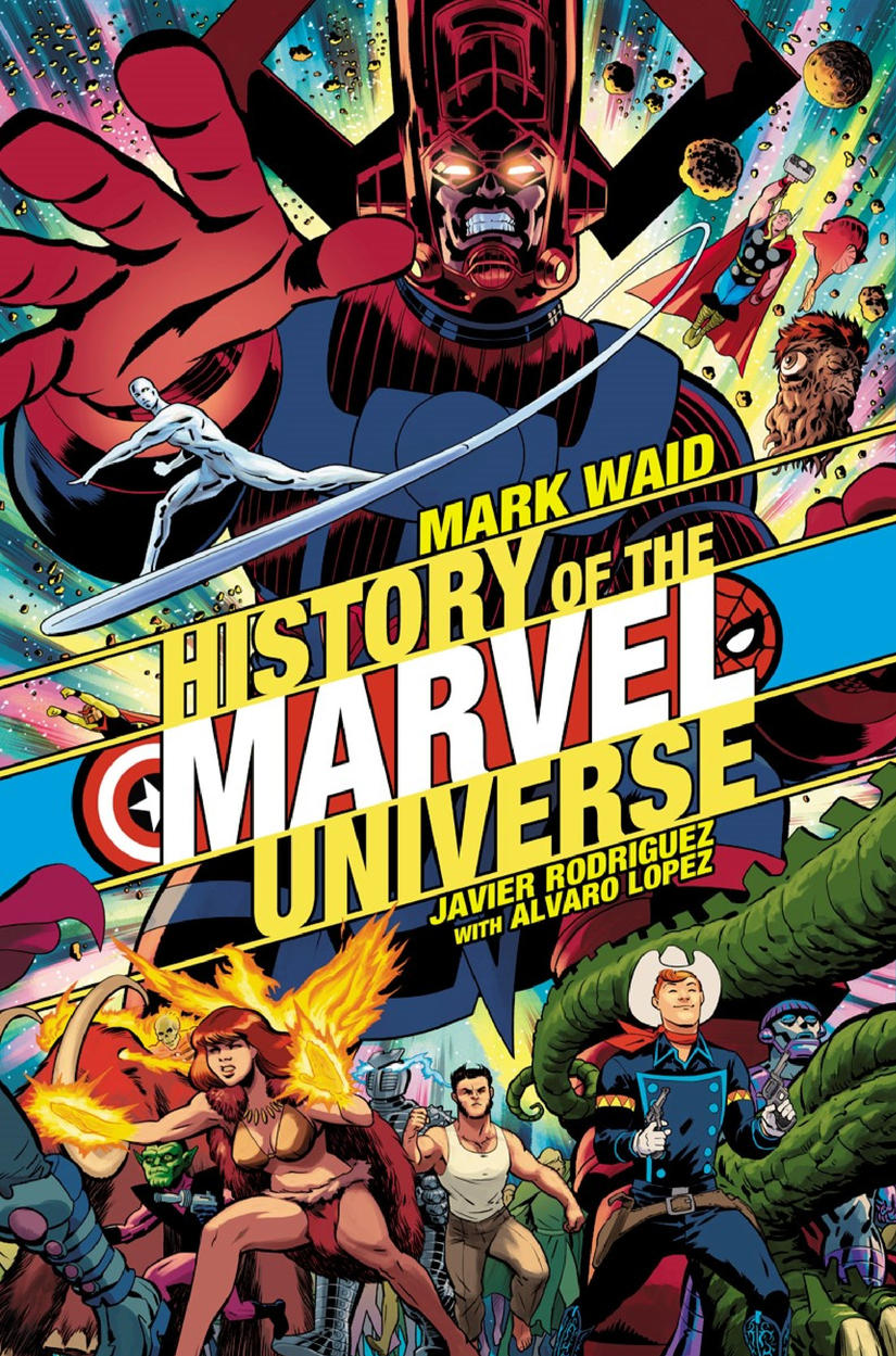Cover of HIstory of the Marvel Unverse #1