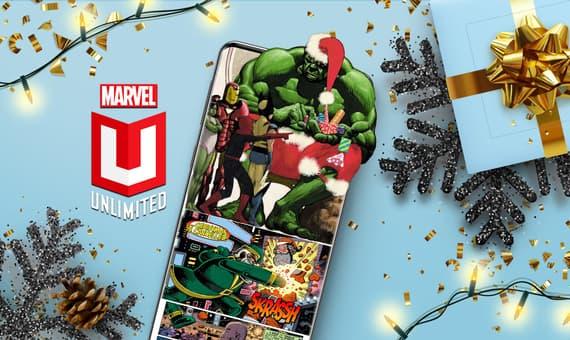 Marvel Unlimited Holiday Hulk