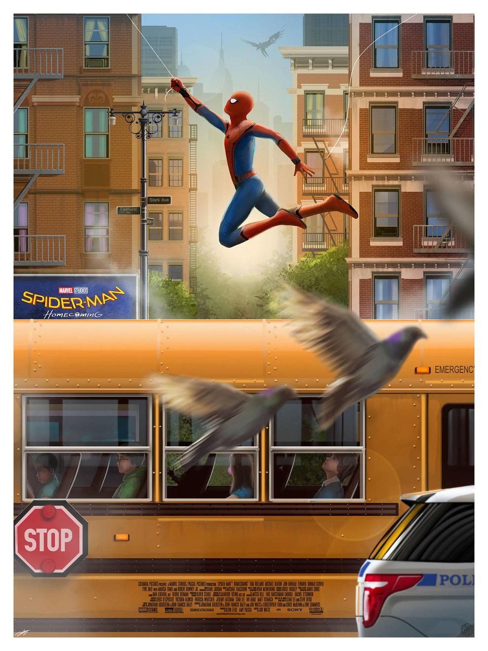 Spider-Man Homecoming by Andy Fairhurst