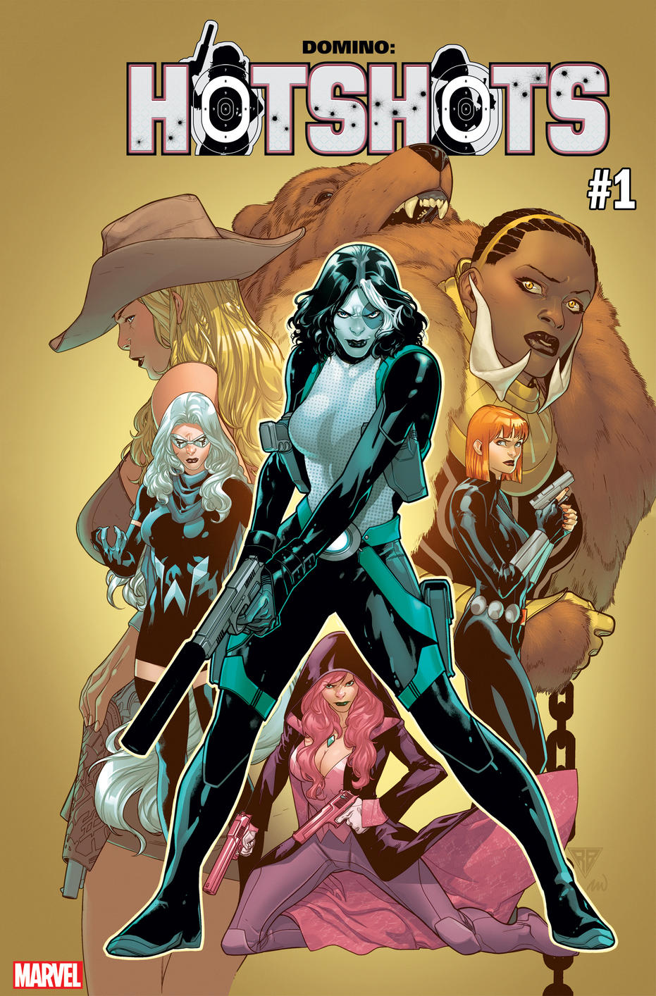 Cover of Domino: Hotshots #1