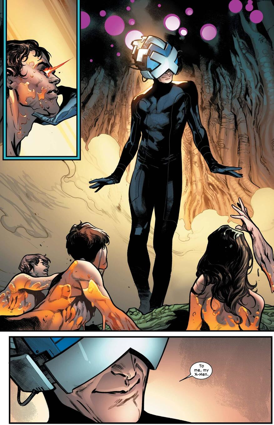 Interior from House of X #1