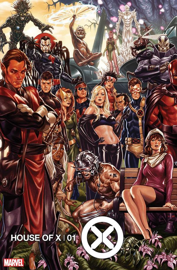 House of X variant by Mark Brooks